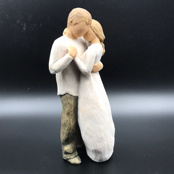 "Willow Tree Figurine ""Promise"" couple love"